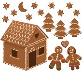 Gingerbread House Man Woman Love