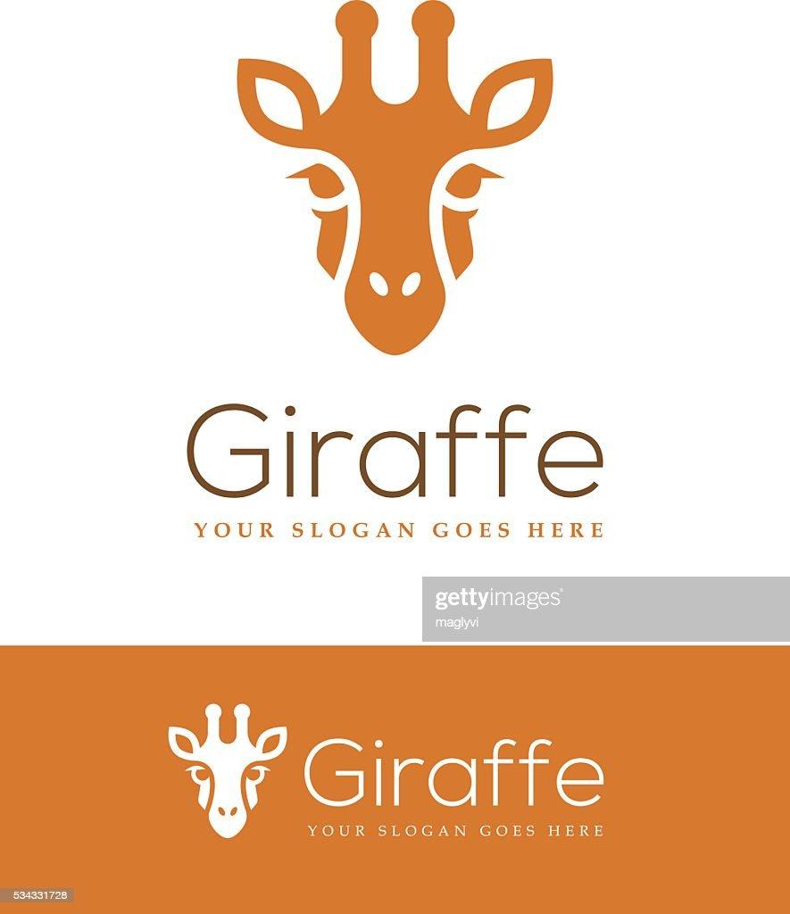 Giraffe Head Icon