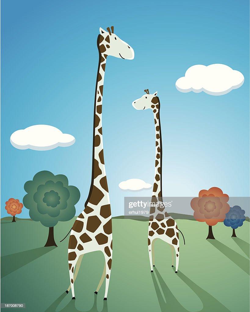 Giraffe : stock illustration