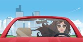 Girl driver