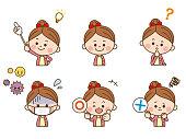 Girl facial expression1