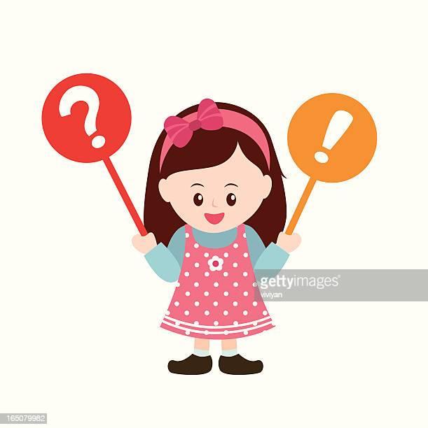 Q & A girl
