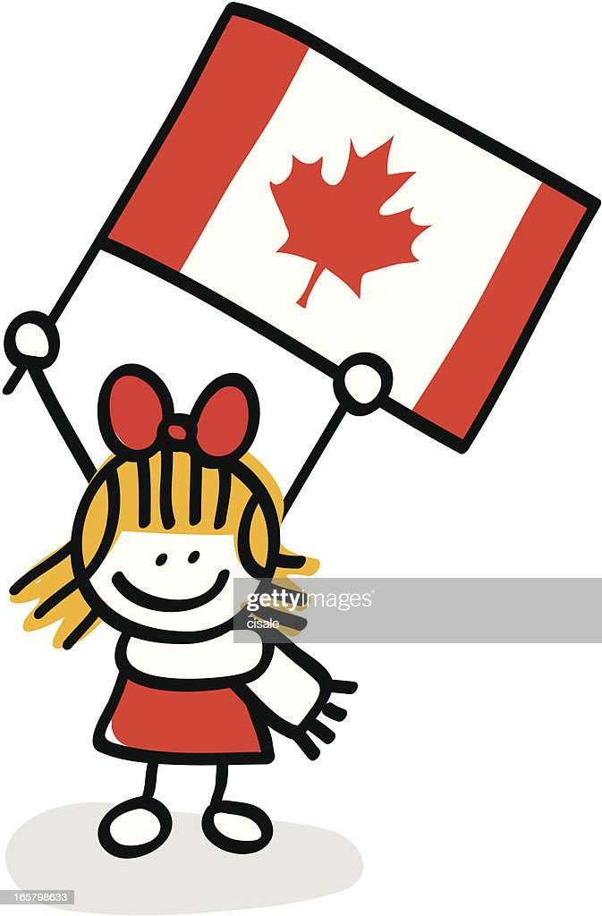 Image result for CANADA FLAG CARTOON