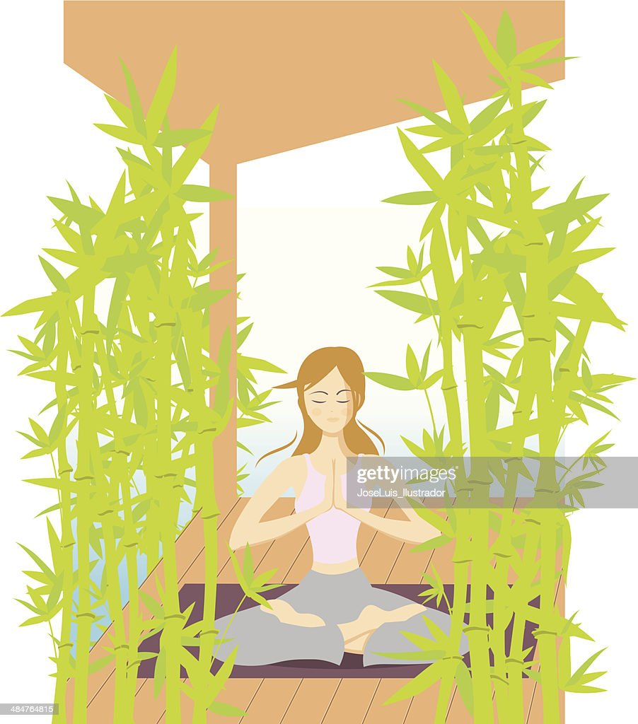 Girl_making_yoga
