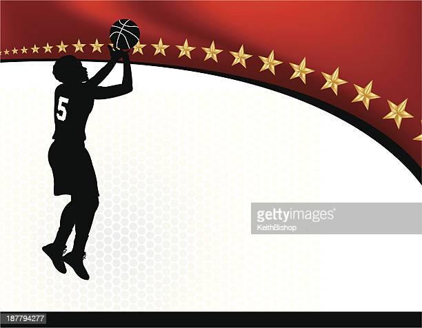 Girls Basketball Background