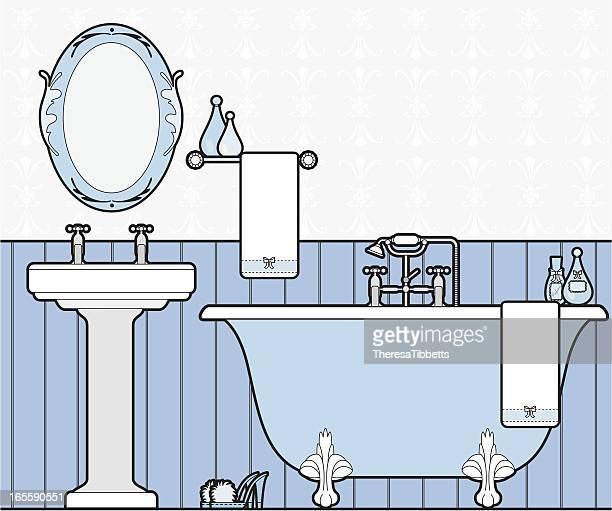 Girly-Badezimmer