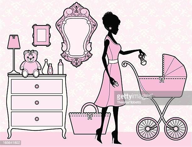 Girly Kinderzimmer