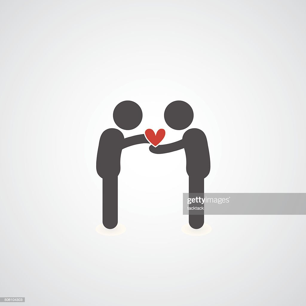 give my heart symbol