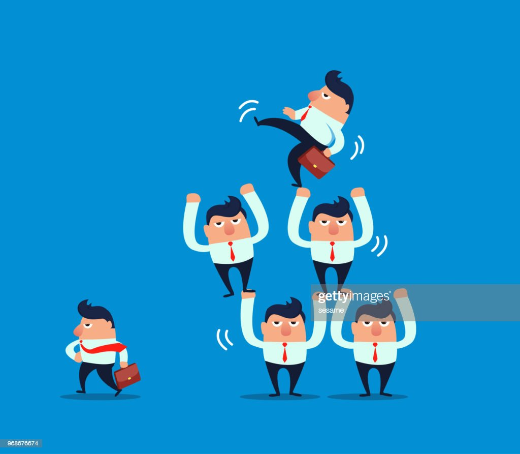 give up : stock illustration