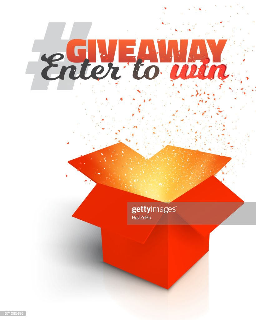 Giveaway Competition Enter to Win Prize Concept