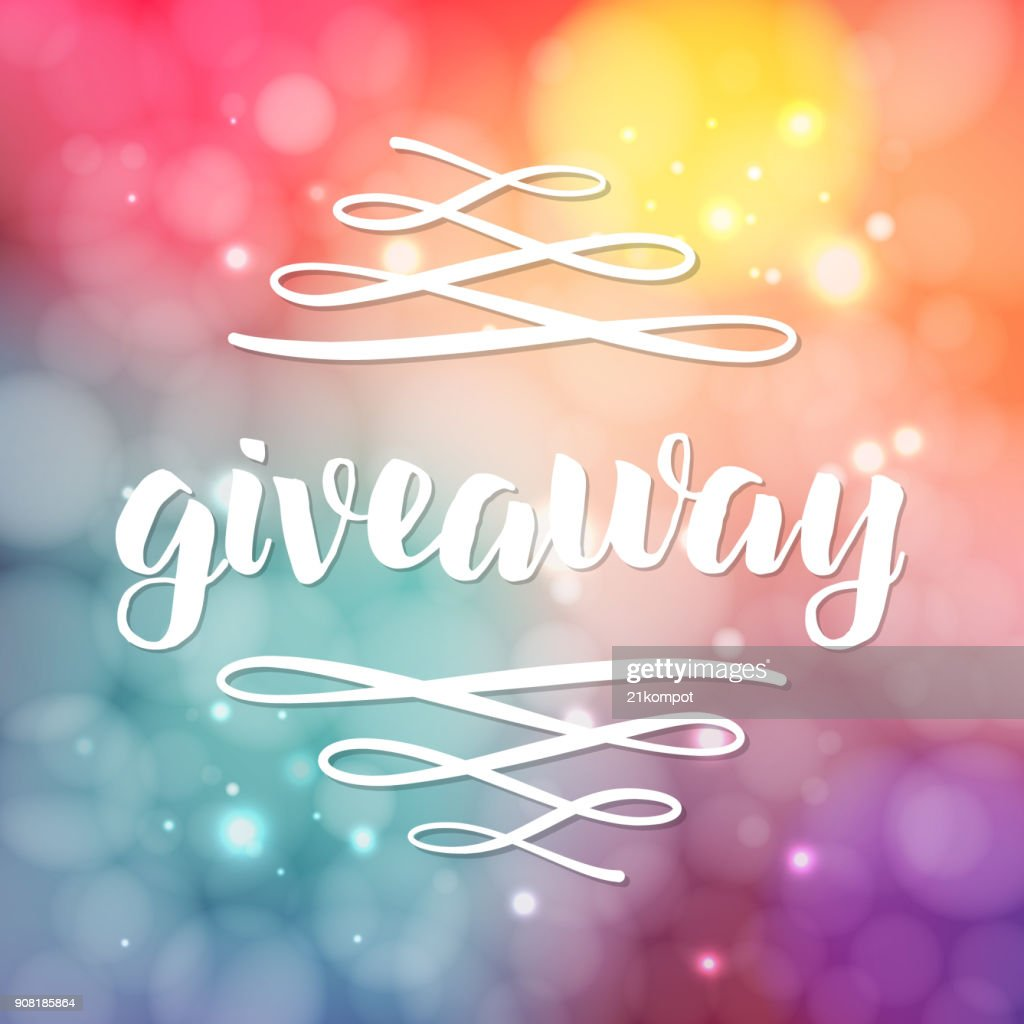 Giveaway freebies for promotion in social media