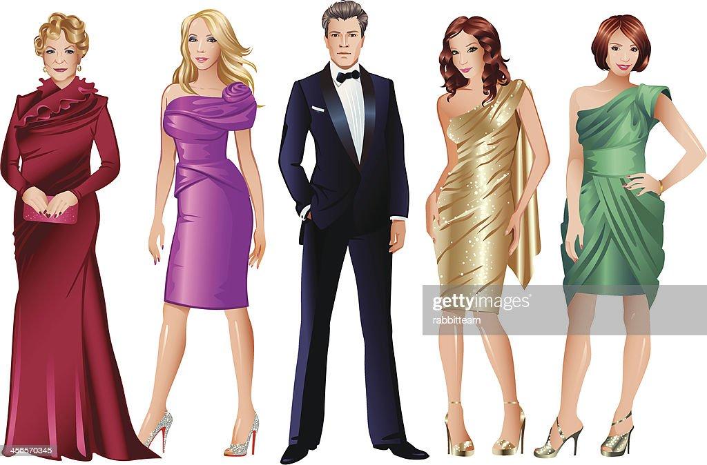 Glamour Fashion Models