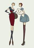 Glamour ladyes