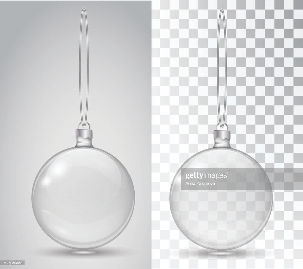 Glass Christmas toy