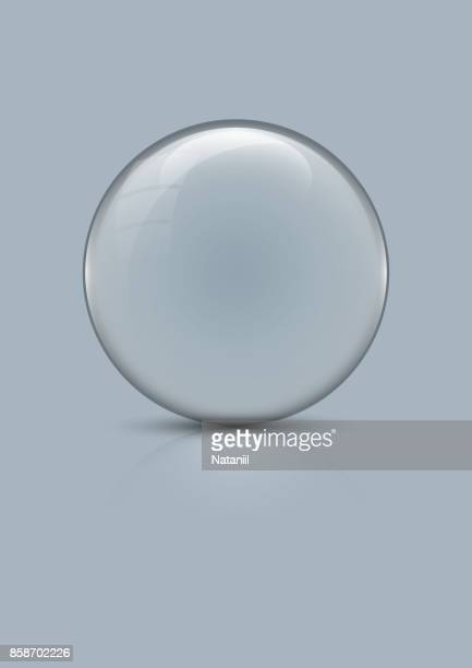 glass globe - ball stock illustrations