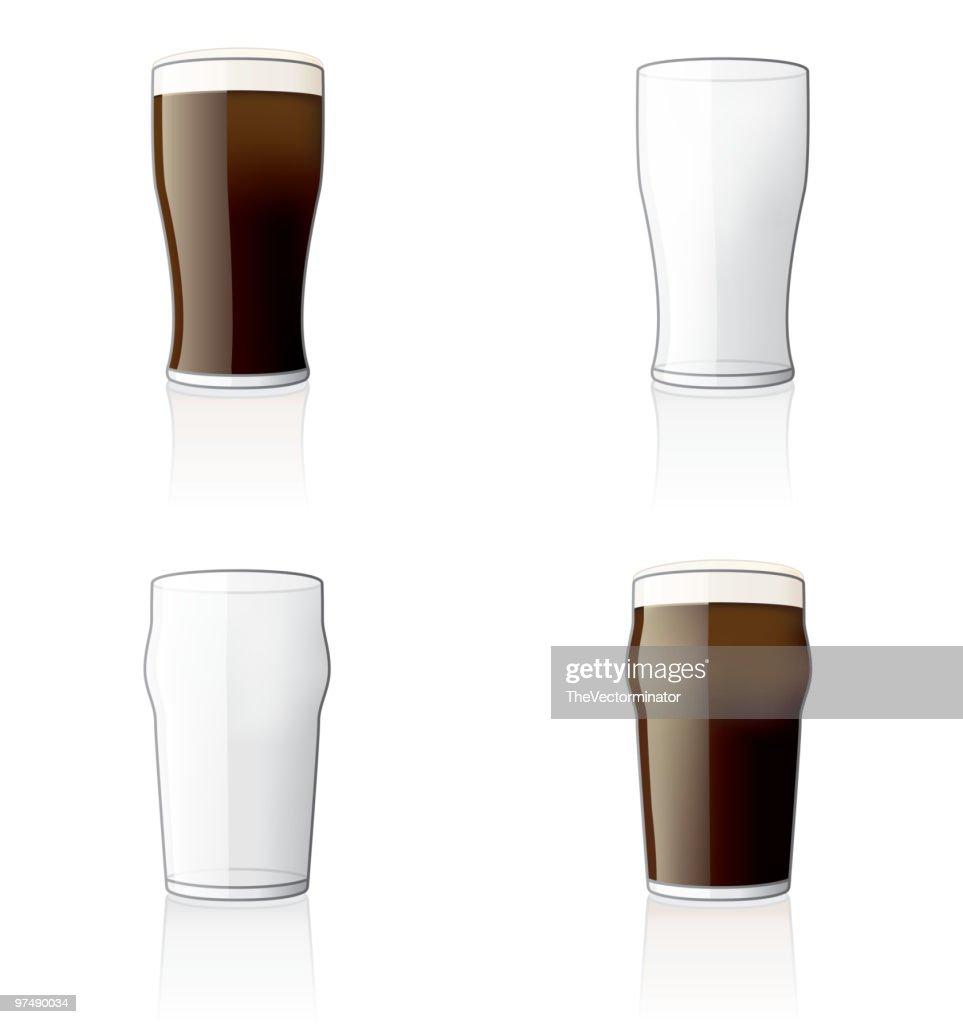 Glass Icon Set. Design Elements