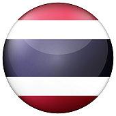 glass light ball with flag thailand
