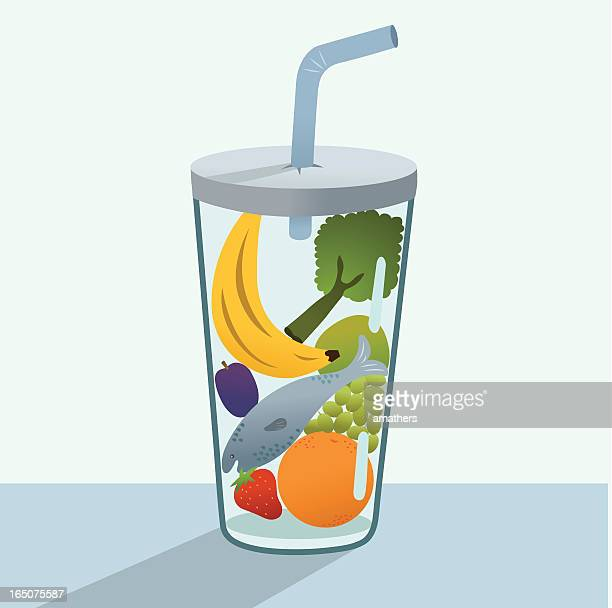 Glass of Healthy Goodness Keeps the Doctor Away..