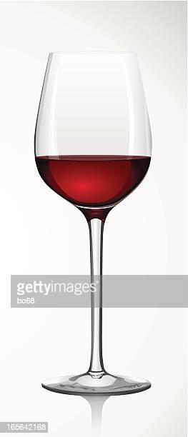 glass of red wine - Rotweinglas