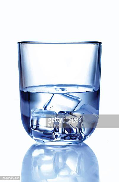 glass of water with ice - carbonated stock illustrations, clip art, cartoons, & icons