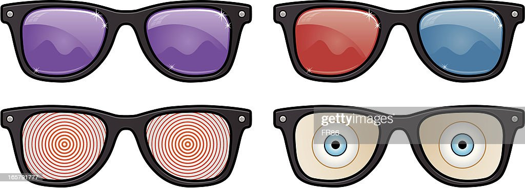 Glasses Collection : stock illustration