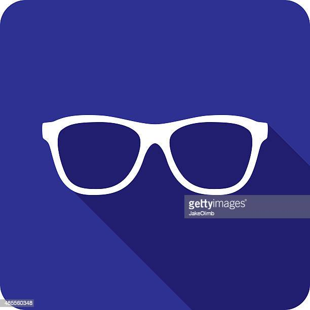 Glasses Icon Silhouette