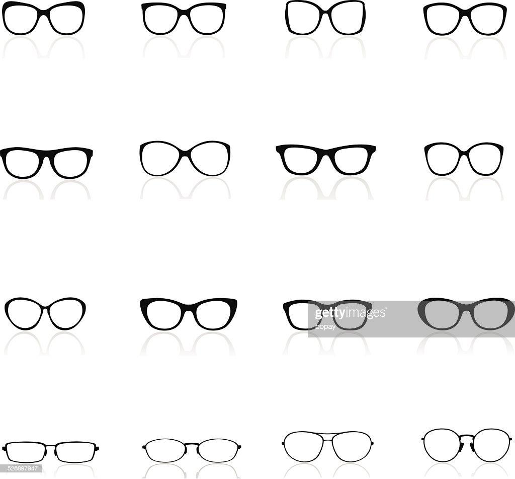 Glasses Silhouette