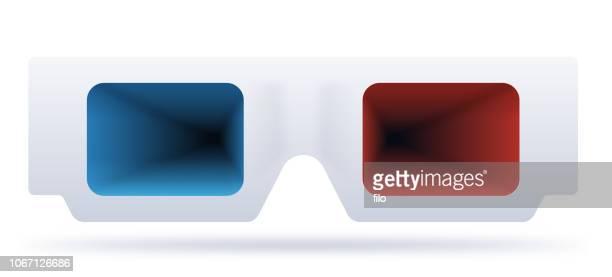3D Glasses Three Dimensional