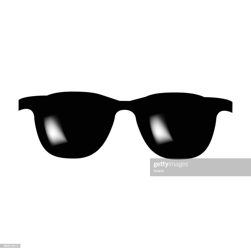 Glasses Vector Icon Symbol Design Illustration Isolated On White