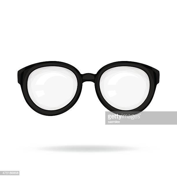 glasses - eyeglasses stock illustrations