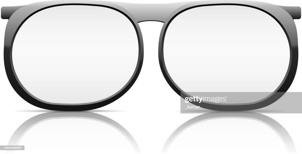 Glasses : Vector Art