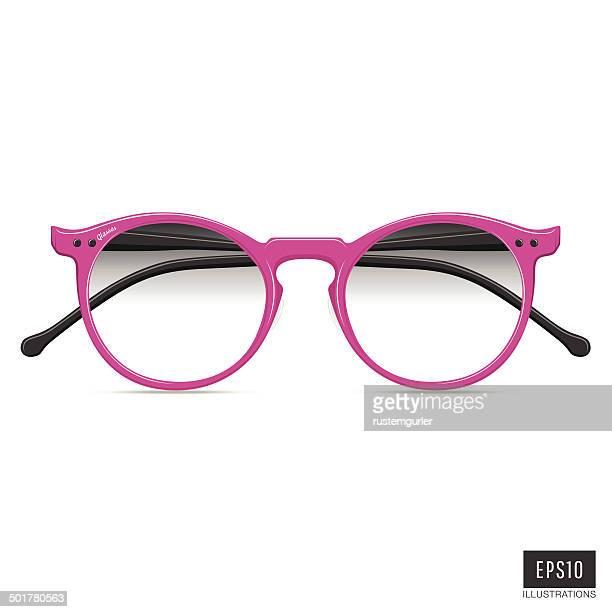 glasses - optical instrument stock illustrations, clip art, cartoons, & icons