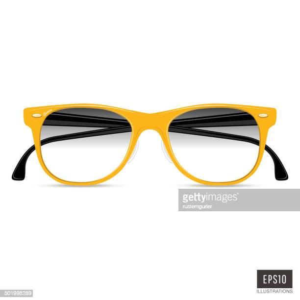 illustrations, cliparts, dessins animés et icônes de lunettes de vue - lunettes de lecture
