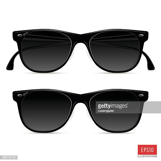 glasses - sunglasses stock illustrations