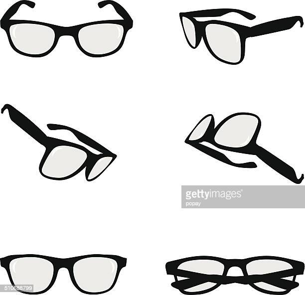 glasses - ophthalmology stock illustrations, clip art, cartoons, & icons