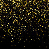 Glitter glow sparkles magical background. New year and christmas design.