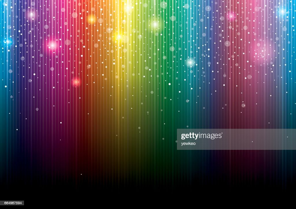 Glittering Colorful Background