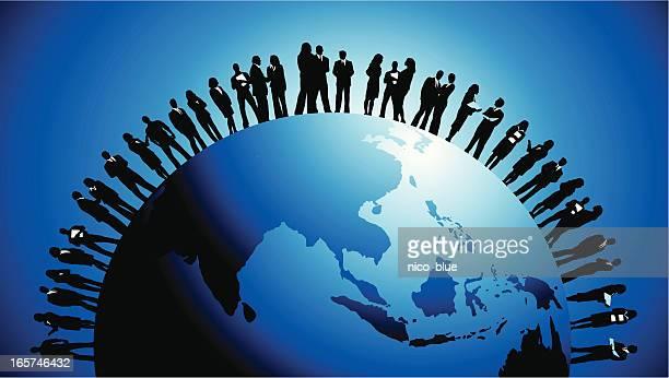 Global business-Asien