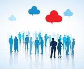 Global Business People Vector