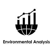 global, chart, environmental analysis icon. Element of business icon for mobile concept and web apps. Detailed global, chart, environmental analysis icon can be used for web
