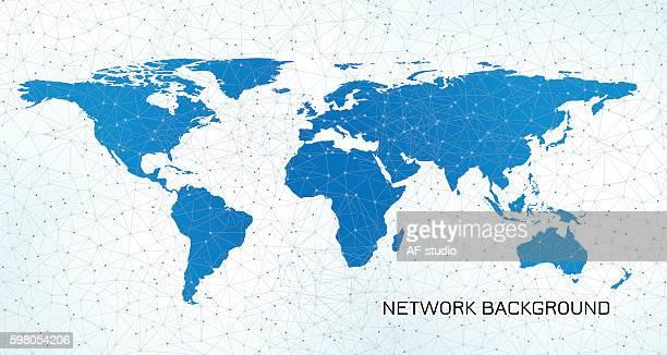 Global Communication Background