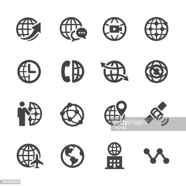 Icônes de Communication globale - Acme série