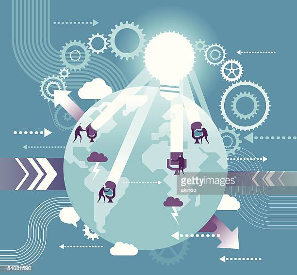 global communication - mystery stock illustrations, clip art, cartoons, & icons