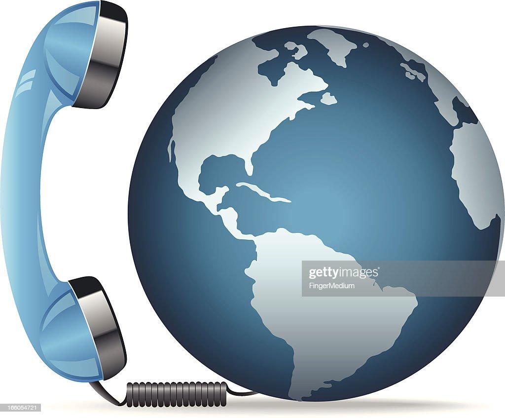 Global communication : Vector Art