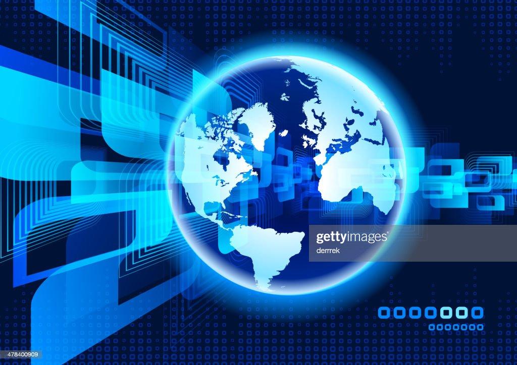Global Communications : stock illustration