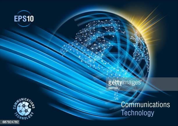 Globale Kommunikation.