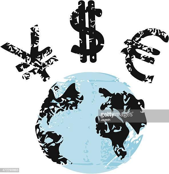 ilustraciones, imágenes clip art, dibujos animados e iconos de stock de economía global - impuesto sobre la renta