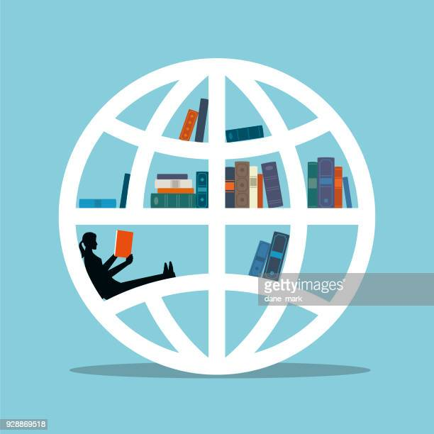 global education illustration - concepts & topics stock illustrations, clip art, cartoons, & icons