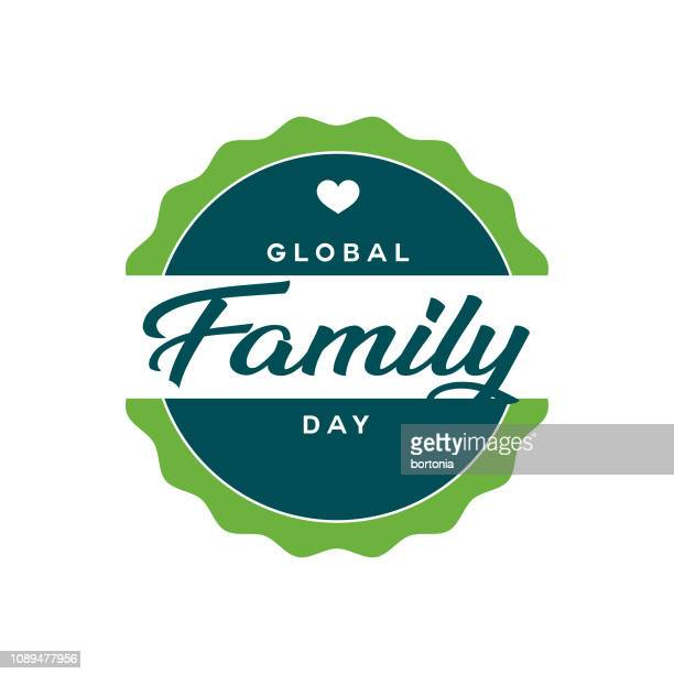 Global Family Day Label