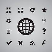 global icon web